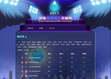喜报 | 信息学子获得中国高校计算机大赛团体程序设计天梯赛特等奖