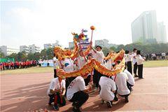 学院第二十届田径运动会隆重举行